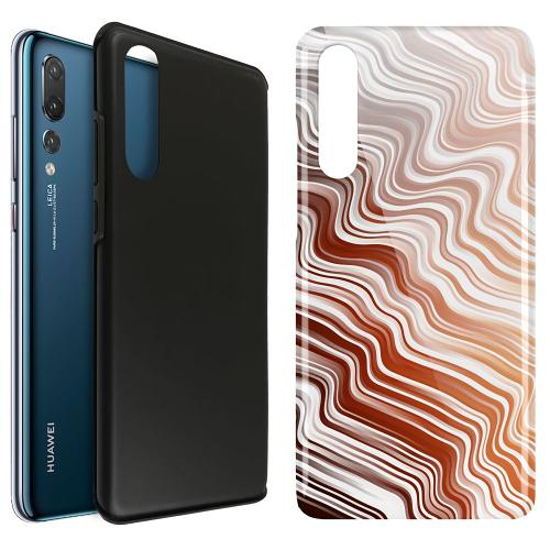 Huawei P20 Pro LUX Duo Case Distorted Soundwaves