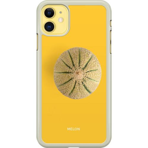 Apple iPhone 11 Hard Case (Transparent) Melon