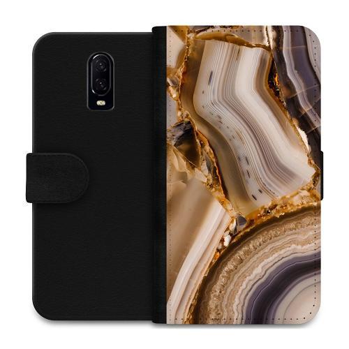 OnePlus 6T Plånboksfodral Amber Agate