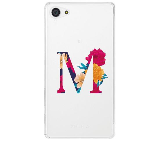 Sony Xperia Z5 Compact Firm Case Bokstaven - M