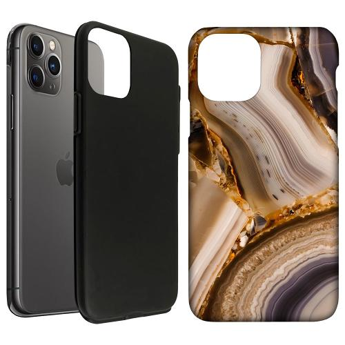 Apple iPhone 11 Pro LUX Duo Case Amber Agate
