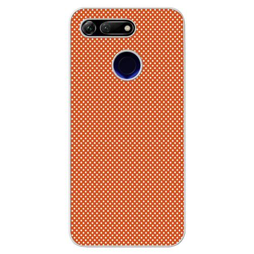 Huawei Honor View 20 Mobilskal Orange Droplets