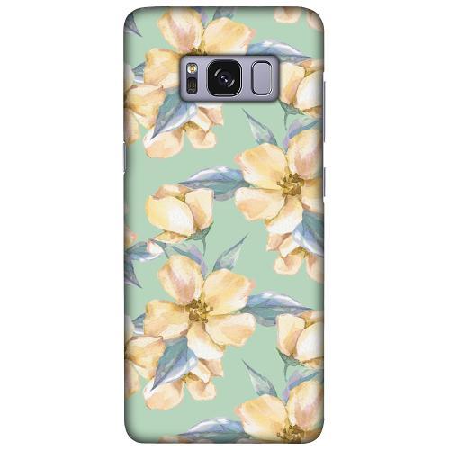 Samsung Galaxy S8 LUX Mobilskal (Matt) Waterproof Flowers