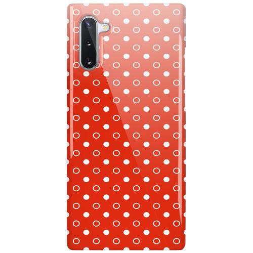 Samsung Galaxy Note 10 LUX Mobilskal (Glansig) Dots and Tags
