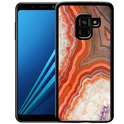 Samsung Galaxy A8 (2018) Mobilskal Molten Dispersal