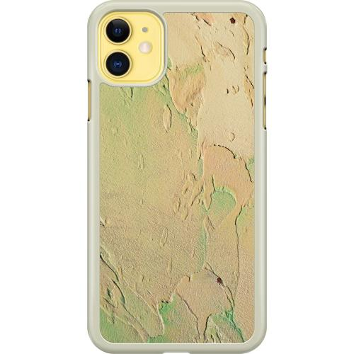 Apple iPhone 11 Hard Case (Transparent) Arenaceous Canvas