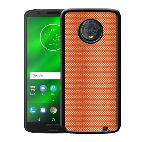 Motorola Moto G6 Plus Mobilskal Orange Droplets