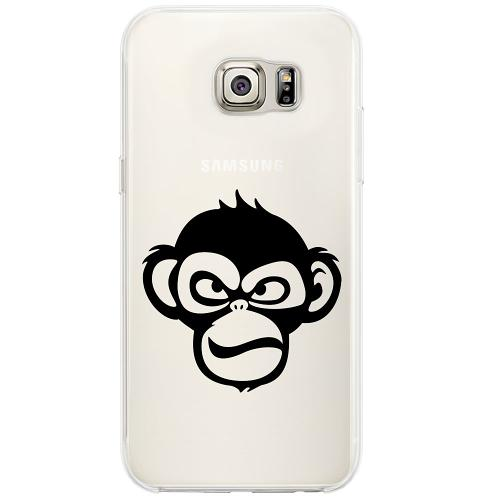 Samsung Galaxy S6 Edge Firm Case Angry Monkey