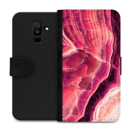 Samsung Galaxy A6 Plus (2018) Plånboksfodral Metamorphic Ruby