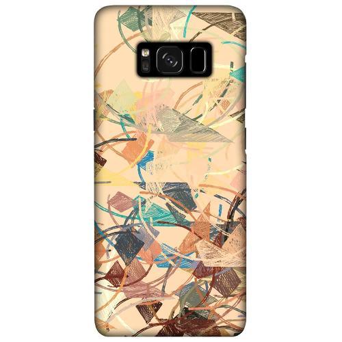 Samsung Galaxy S8 Plus LUX Mobilskal (Matt) Colourful Expectations