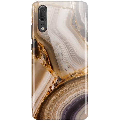 Huawei P20 LUX Mobilskal (Glansig) Amber Agate