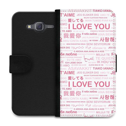 Samsung Galaxy J5 Plånboksfodral International Love