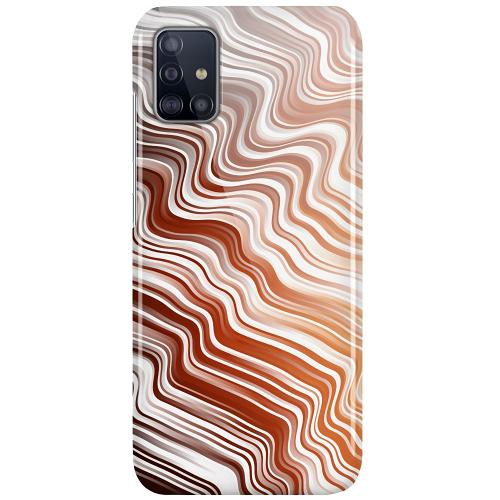 Samsung Galaxy A51 LUX Mobilskal (Glansig) Distorted Soundwaves