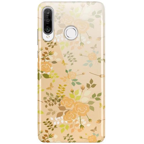 Huawei P30 Lite LUX Mobilskal (Glansig) Flowery Tapestry