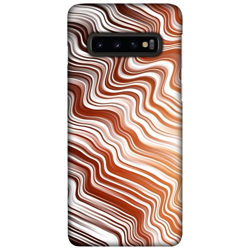 Samsung Galaxy S10 Plus LUX Mobilskal (Matt) Distorted Soundwaves