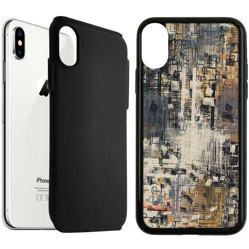 Apple iPhone XS Max Duo Case Svart Tribute to the Crown