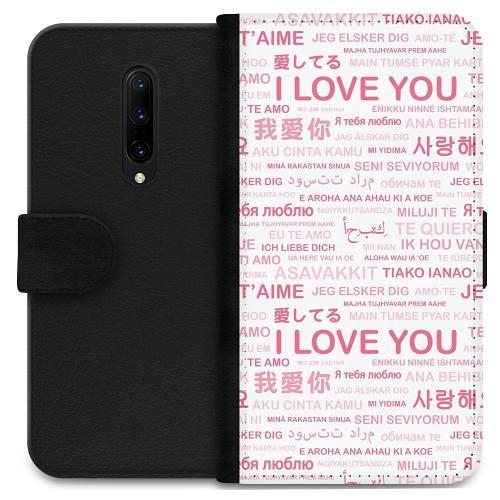 OnePlus 7 Pro Plånboksfodral International Love