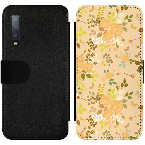 Samsung Galaxy A7 (2018) Wallet Slimcase Flowery Tapestry