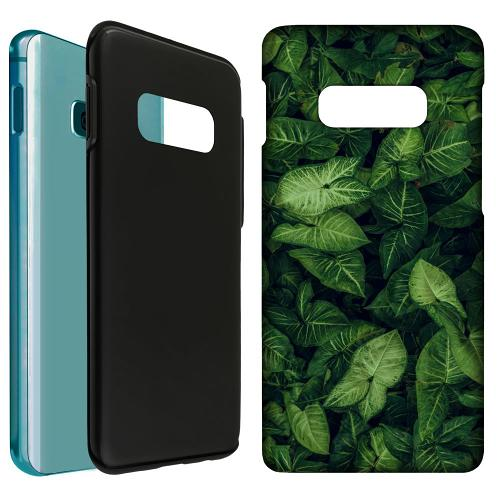 Samsung Galaxy S10e LUX Duo Case Green as Grace