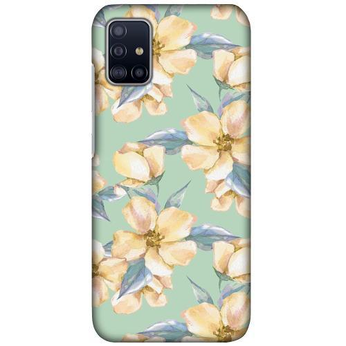 Samsung Galaxy A51 LUX Mobilskal (Matt) Waterproof Flowers