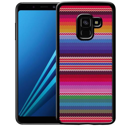 Samsung Galaxy A8 (2018) Mobilskal Vivid Tapestry