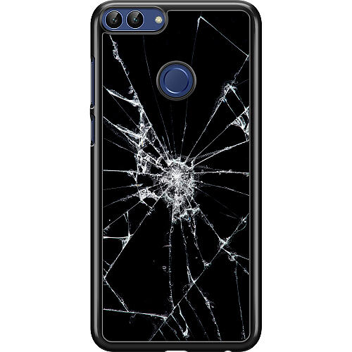 Huawei P Smart (2018) Hard Case (Black) Crushed Hope