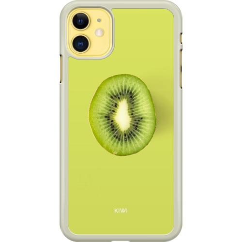 Apple iPhone 11 Hard Case (Transparent) Kiwi