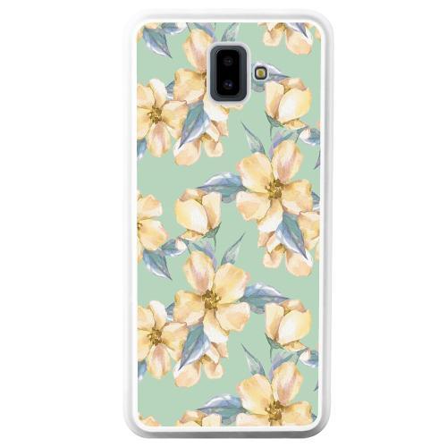 Samsung Galaxy J6 Plus (2018) Mobilskal Waterproof Flowers