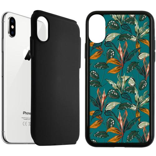 Apple iPhone XS Max Duo Case Svart Unknown Spaces