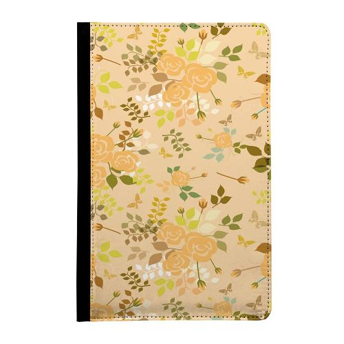 Samsung Galaxy Tab E 9.6 360 Väska Flowery Tapestry
