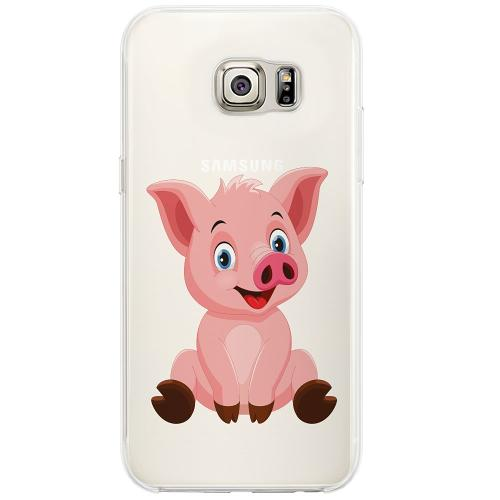Samsung Galaxy S6 Edge Firm Case  Piggy