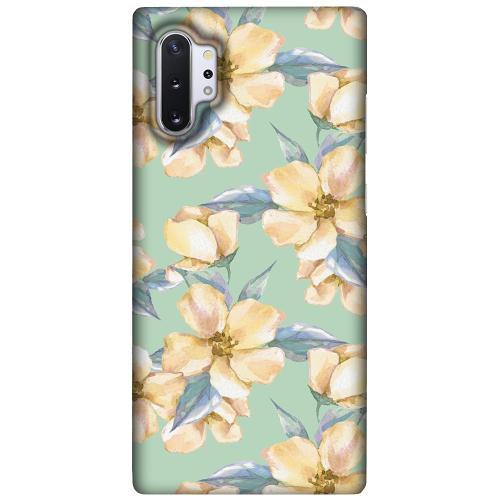 Samsung Galaxy Note 10 Plus LUX Mobilskal (Matt) Waterproof Flowers
