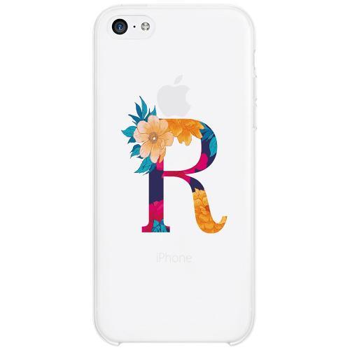 Apple iPhone 5c Firm Case Bokstaven - R