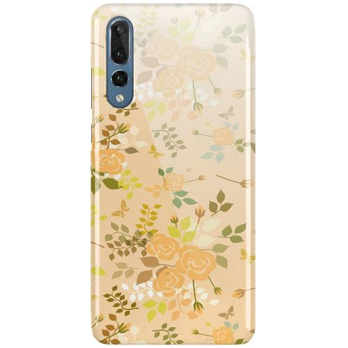 Huawei P20 Pro LUX Mobilskal (Glansig) Flowery Tapestry