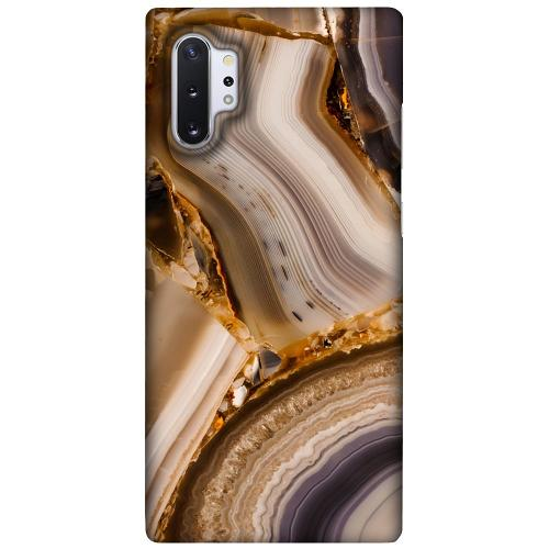 Samsung Galaxy Note 10 Plus LUX Mobilskal (Matt) Amber Agate