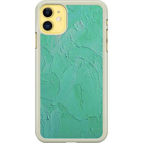 Apple iPhone 11 Hard Case (Transparent) Mineral Strokes
