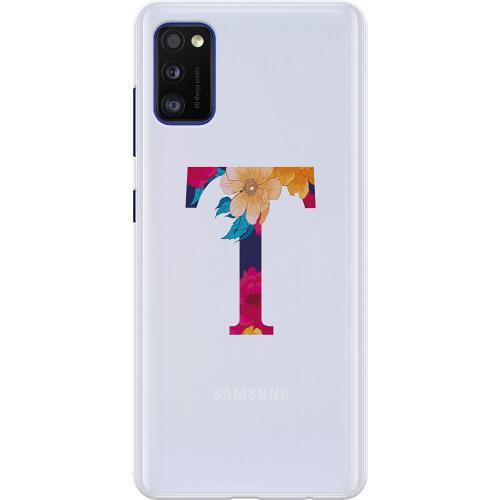 Samsung Galaxy A41 Thin Case Bokstaven - T