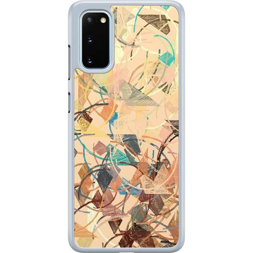 Samsung Galaxy S20 Hard Case (Transparent) Colourful Expectations