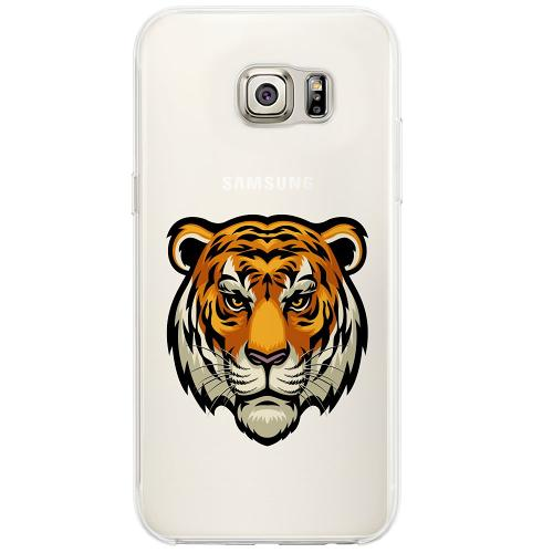 Samsung Galaxy S6 Edge Firm Case Tiger