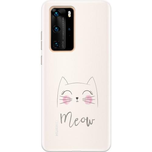 Huawei P40 Pro Thin Case Katt