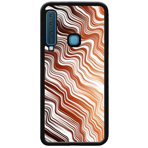 Samsung Galaxy A9 (2018) Mobilskal Distorted Soundwaves