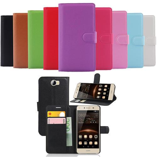 Huawei Y6 2 Compact Plånboksfodral