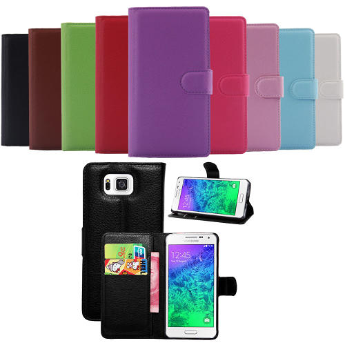 Samsung Galaxy Alpha Plånboksfodral