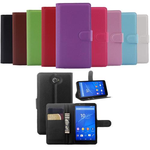 Sony Xperia E4 Plånboksfodral