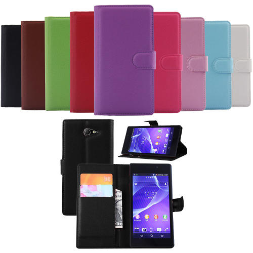 Sony Xperia M2 Plånboksfodral