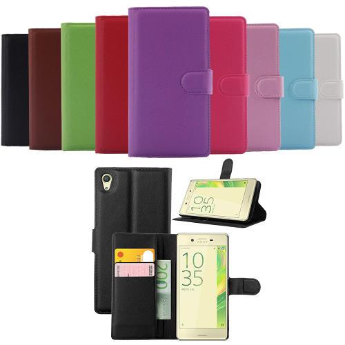 Sony Xperia X Plånboksfodral