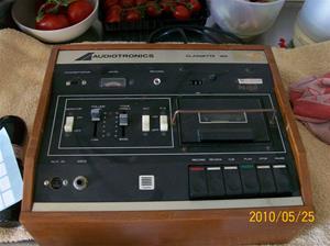 392. Audiotronics, cassettedäck. Typ: Classette 160 ES 160. Nr: 10706. Fotonr: 100_5766
