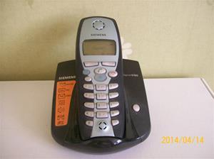 853. Såld. Siemens Gigaset S100, trådlös telefon. Utställningsexemplar. Fotonr: 101_0604