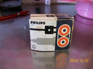 469. Philips, kabel. Typ: Förmodligen till en bandspelare. Nr: SC 7971. Fotonr: 100_7501