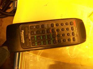 514. Panasonic, fjärkontroll. Typ: CD-Radio-Cassette. Nr: RAK-RX119WH. Fotonr: 100_7646